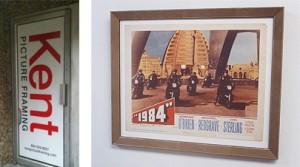 Framed Vintage Poster
